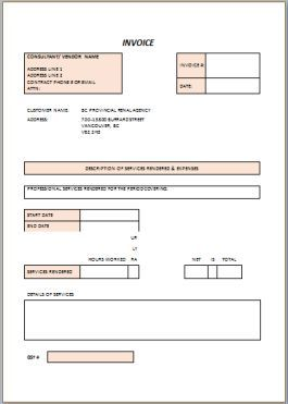 Free Contractor Invoice Templates  Independent Contractor Invoice