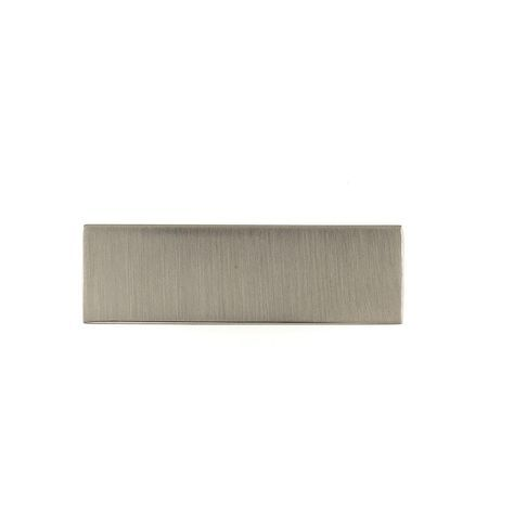 Richelieu Hardware 2 1 2 In 64 Mm Center To Center Brushed Nickel Contemporary Drawer Pull Bp64664195 The Home Depot Craftsmanship Design Brushed Nickel Contemporary Drawers