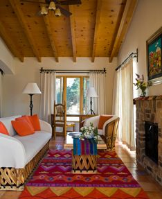 Interior decorating ideas on pinterest southwestern home for Mexican inspired living room ideas