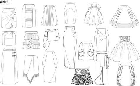 Illustrator Fashion Templates for Men Garment by Nadia Faubert - Creator of…