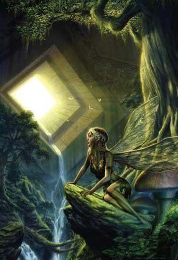 Mystical enchantments: Fairy.