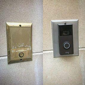 Ring Doorbell Replace Old Intercom Speaker Ring Doorbell Doorbell Doorbell Cover