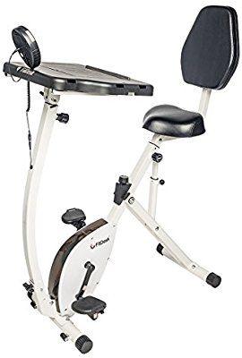 Amazon Com Fitdesk Exercise Bike Recumbent Exercise Bike With Sliding Desk Sports Outdoors Recumbent Bike Workout Biking Workout Best Exercise Bike
