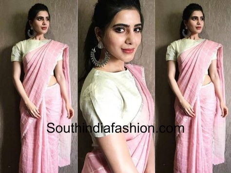 Make Your Pink Saree Look More Interesting With Stylish Blouses!