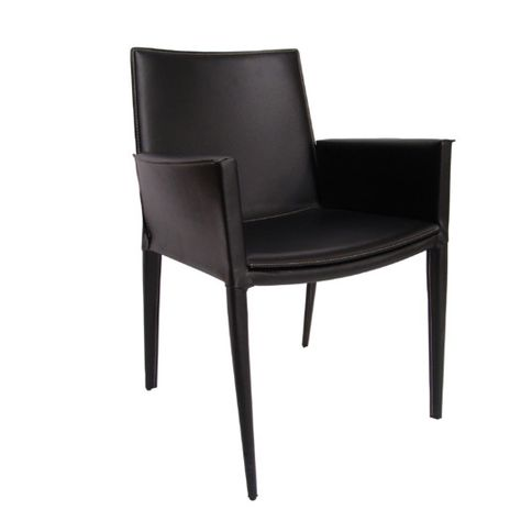 Home Dining Room Chairs For Elderly SohoConcept Tiffany Leather Arm Chair