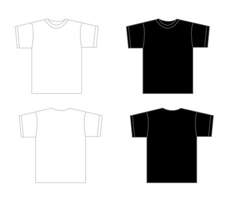 Huge Collection of T-Shirt Design Mockup Templates Ressource - t shirt template