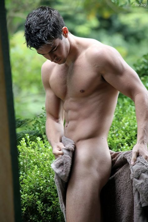 The Sexy naked male super models share