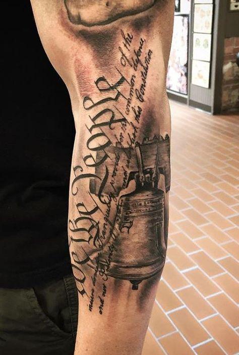 Patriotische Tattoos, Forarm Tattoos, Forearm Sleeve Tattoos, Best Sleeve Tattoos, Tattoo Sleeve Designs, I Tattoo, Best Forearm Tattoos, Flag Tattoos, Mens Tattoos