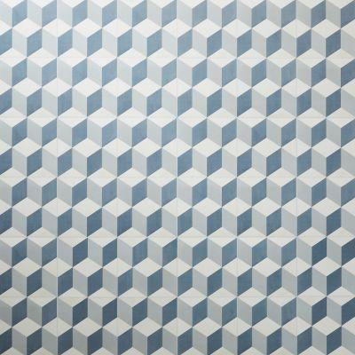 Dalle Pvc Adhesive Carreaux De Ciment Bleus Poprock 30 X 30 Cm Vendue Au Carton Adhesif Carreaux De Ciment Carreau De Ciment Dalle Pvc Adhesive