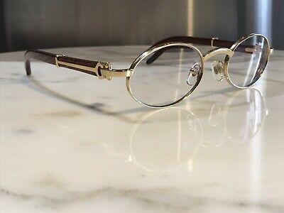 Sponsored Ebay Cartier Sicier Vintage Wood Sunglasses Glasses Rare Giverny Malmaison Bagatelle In 2020 Wood Sunglasses Glasses Butterfly Sunglasses