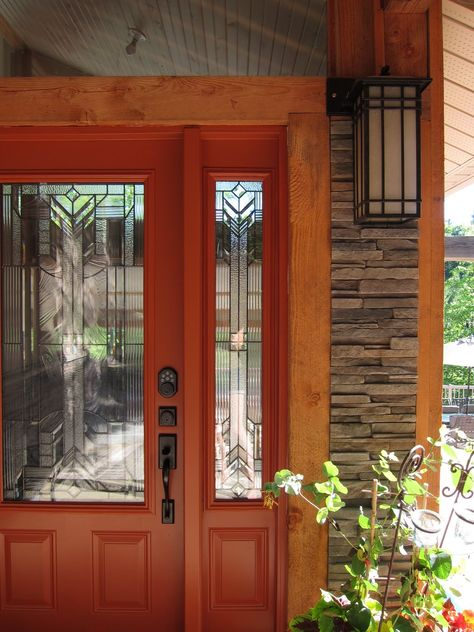 Call me crazy, but I might want my front door to be burnt orange!