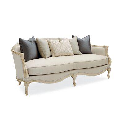Caracole Classics Le Canape 86 5 Flared Arm Sofa Canape Sofa Sofa Sofa Clearance