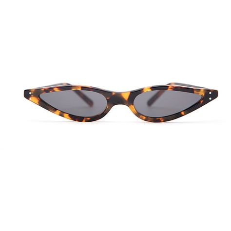 c2a7a2d5015f3 George Keburia Tortoiseshell Sunglasses ( 215) ❤ liked on Polyvore  featuring accessories