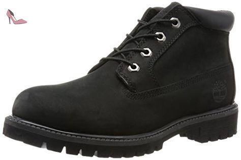 Timberland Mens Anti Fatigue Chukka Black Nubuck Boots 43.5
