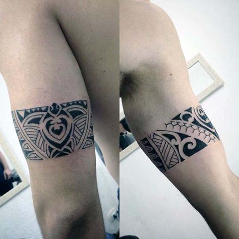 Tribal Armband Turtle Tattoos For Guys