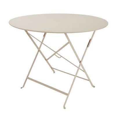 Table de jardin Bistro ø96 cm brun noisette | Mobilier de jardin