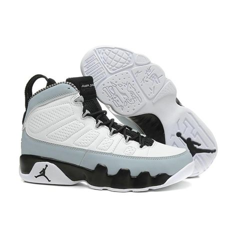 284b3369ab3 Jordan Retro 9 Men Basketball Shoes OG Space Jam High Cool Grey Anthracite  2010 Release Athletic Outdoor Sport Sneakers 41-46