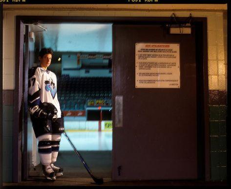 Portrait of Sidney Crosby of the Rimouski Oceanic of the QMJHL. Photograph  Darren Carroll #icehockey #ice #hockey #girlfriend