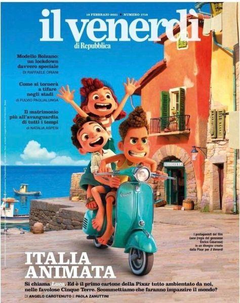 Luca: Nova imagem oficial da animação da Disney Pixar é divulgada