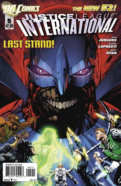 Justice League International (Volume) - Comic Vine   Comic