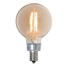 Led Globe Light Bulbs Candelabra Base