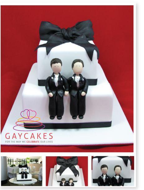 CT K306 same sex wedding cake topper Gay bobblehead gay wedding topper wedding bobble head custom cake toppers same sex weding figurine