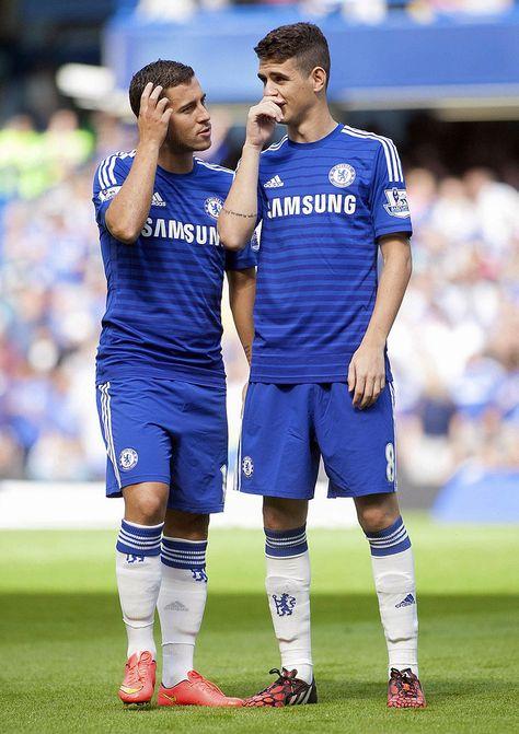Eden Hazard & Oscar #footballislife