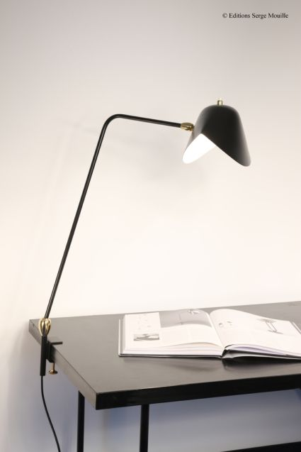 Editions Serge Mouille Lampes A Poser Desk Lamp Serge Mouille Lampe A Poser Lamp