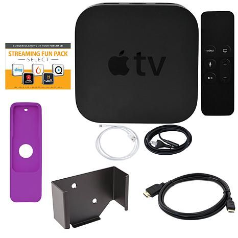 Apple Tv 4th Generation 32gb With Software And Accessories 8570702 Apple Tv Bluetooth Accessories Sling Tv