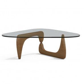 Coffee Table Walnut Lacquered En 2020 Table Basse Design Italien