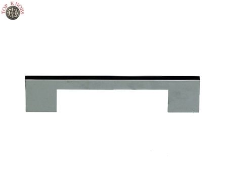 top knobs tk277 modern metro tab pull 8in cc brushed satin nickel sanctuary ii collection cabinet