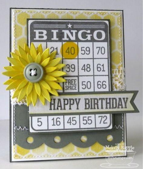 Bingo Birthday By Mrupple