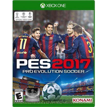 Konami Pro Evolution Soccer 2017 For Xbox One Walmart Com Evolution Soccer Pro Evolution Soccer Pro Evolution Soccer 2017