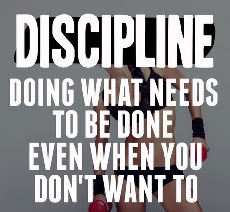 How Very True This Is, And Learning And Using Discipline Will Help You  Succeed!! | Inspire Your Life | Pinterest | Motivation, Motivation Process  And ...