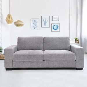 Buy Nepster Fabric 3 Seater Sofa Grey Online Evok In 2020 Sofa Gray Sofa Seater Sofa