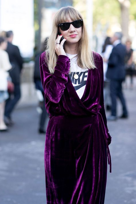The best street style looks from the Paris fashion set