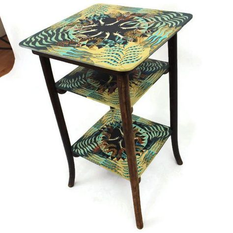Pin By Tammy Bishoff On Furniture Table Decorations Funky