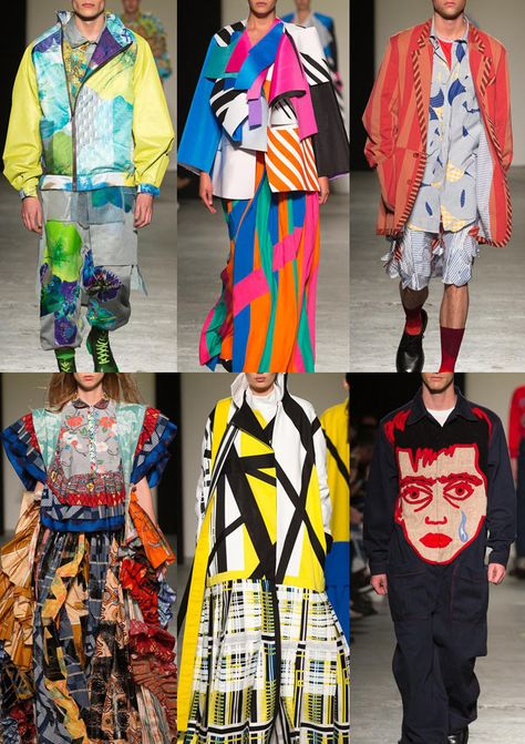 Patternbank brings you a snapshot of the key prints seen at the recent London Graduate Fashion week, which took part over four days at East London& Truman
