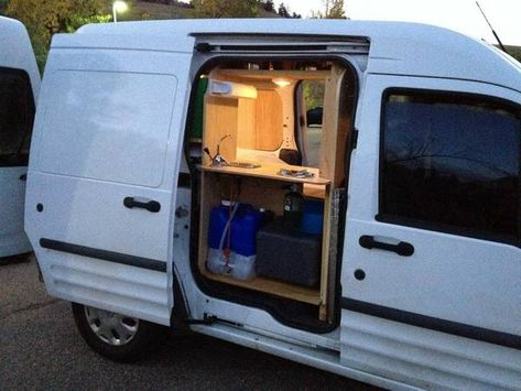 Ford Transit Connect Camper >> Ford Transit Connect Camper Conversion Pinterest Hashtags