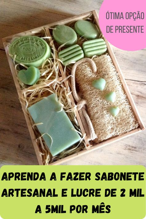 Conheça mais sobre o mercado dos sabonetes artesanais. É uma ótima opção de presente para sua mãe e também para venda! #diadasmães #presente #sabonteartesanal #artesanal #vendaemcasa #presentecriativo