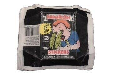 Vintage 1988 Garbage Pail Kids Os Us 13th Series Wax Pack Wrapper W 25c Logo Garbage Pail Kids Pail Garbage