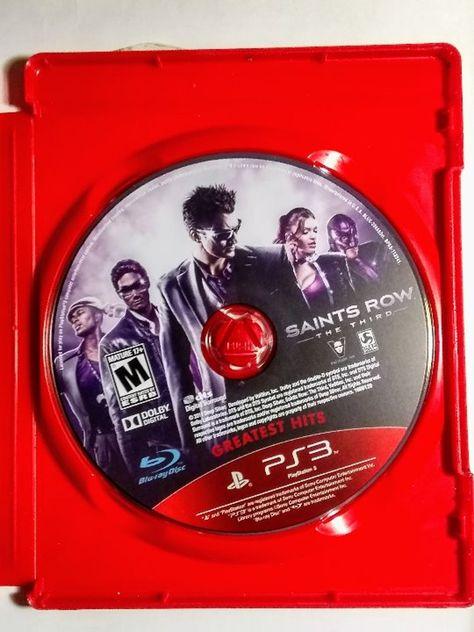 Saints Row The Third Playstation 3
