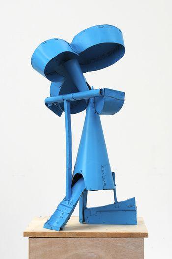 Untitled Kleeblatt Contemporary Art Gallery Metal Sculpture Metal Art
