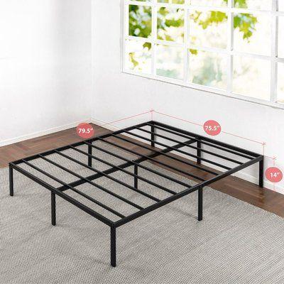 Alwyn Home Anakin Metal Platform Bed Frame Size King Metal