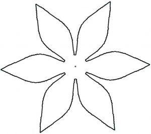 23+ Five petal flower pattern ideas