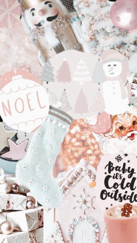 Christmas Wallpaper Photo Collage Trendy Xmas Wallpaper