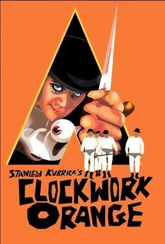 Poster Clockwork Orange Hollywood