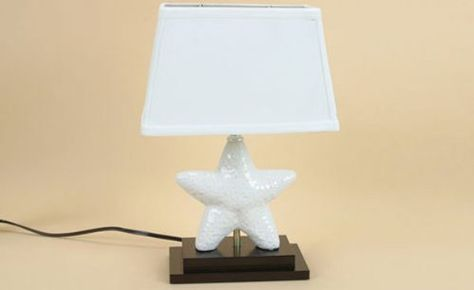 Starfish Table Lamp   OceanStyles.com