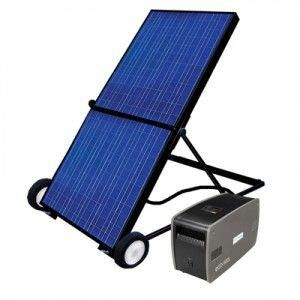 The Ecoctricity Eco1800 Features A A High Efficiency Foldable Solar Panel Mounted On A Cart And Co In 2020 Solar Panels Best Solar Panels Monocrystalline Solar Panels