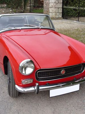 That the convertible mg midget top had